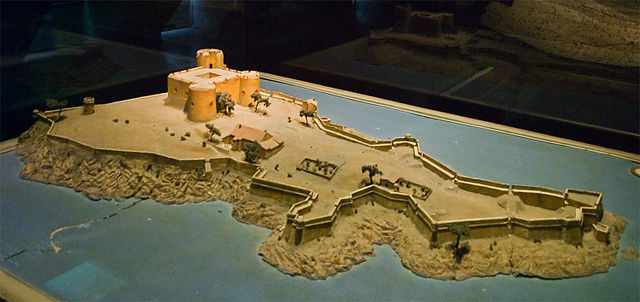 1681 scale model of the Château d'If. Author: Myrabella CC BY-SA 3.0