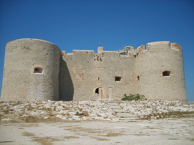 The fortress today.