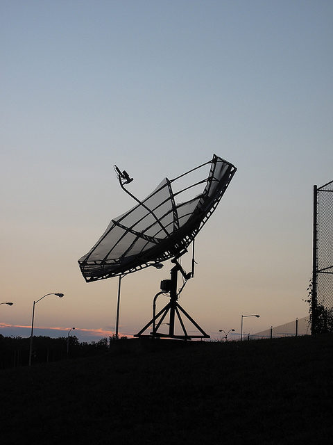 Old satellite. Author: scorchedearth CC BY-ND 2.0