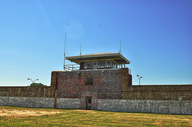 The main guard tower. Author: Forsaken Fotos CC BY 2.0