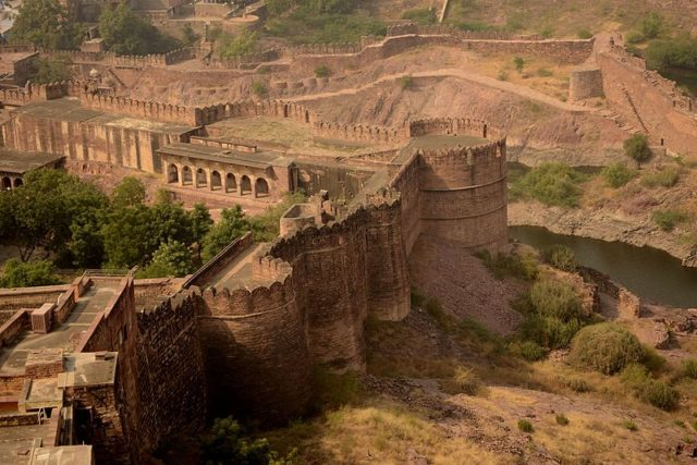 Mehrangarh Fort, from above. Photo Credit:Prucha18,CC BY-SA 4.0