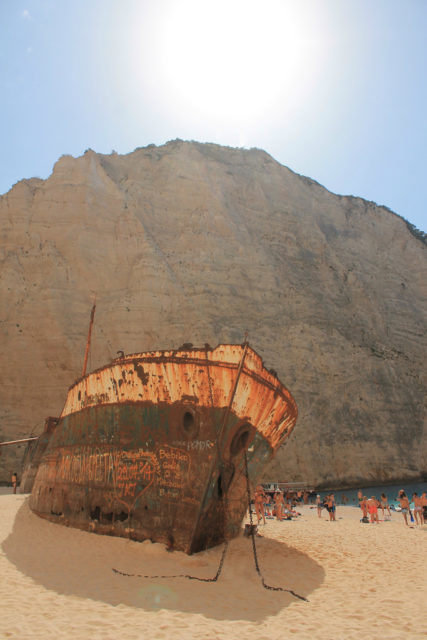 At-shipwreck-bay. Author: philos from Athens CC BY 2.0