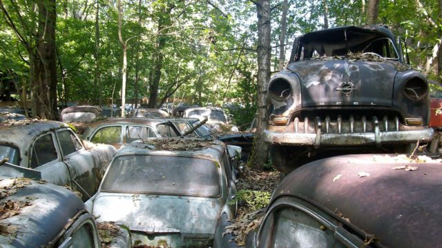 Car Cemetery. Photo Credit: Ambroix
