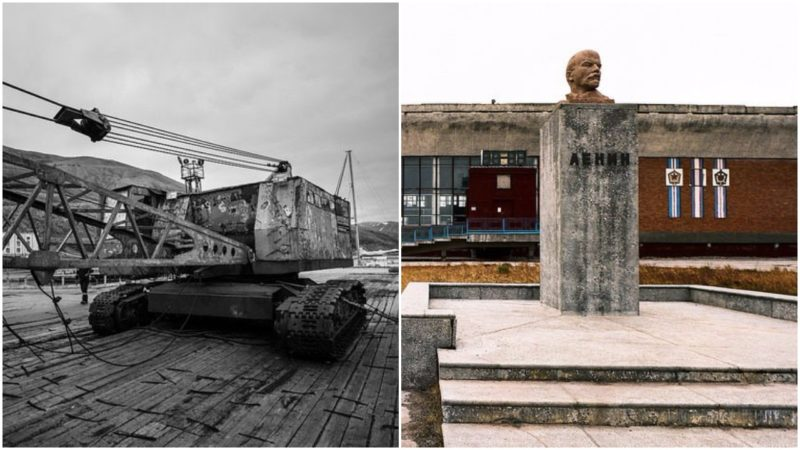 The Russian ghost town & a time capsule in the making