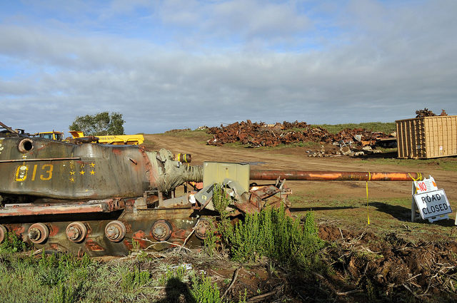 Fort Ord forgotten tanks