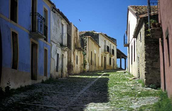 Abandoned streets in Granadilla.Photo credit:Patrick,CC BY-SA 3.0