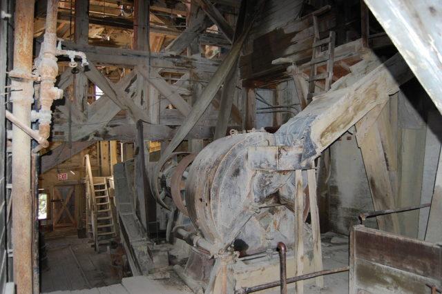 Inside the mill. Photo Credit:matt verso,CC BY 2.0