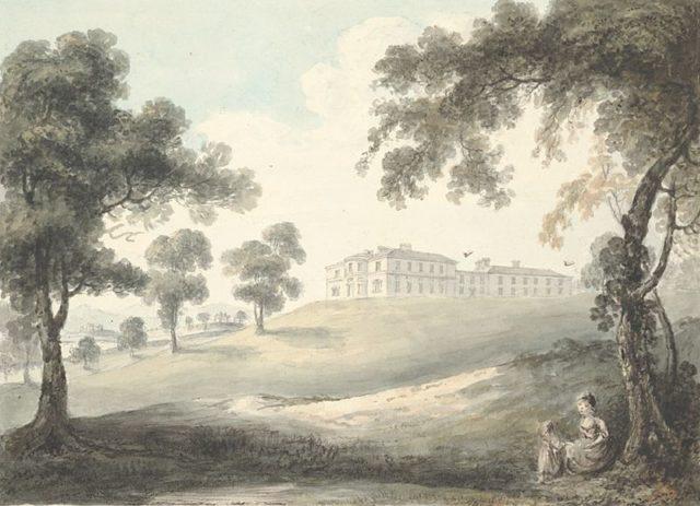 Kinmel Hall 1794.