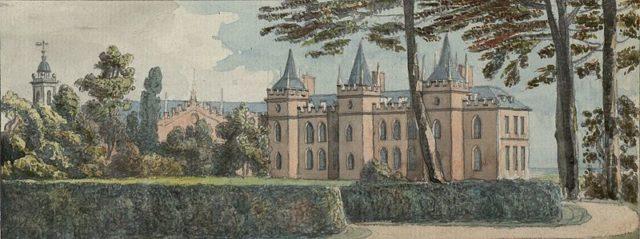Lleweni Hall published c.1775.