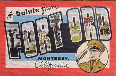 Salute from Fort Ord