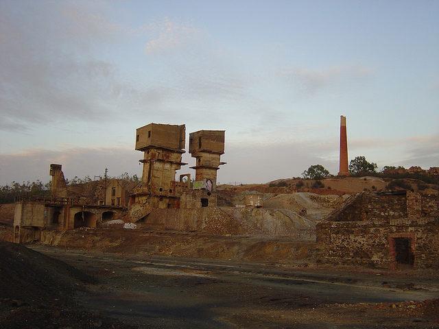 São Domingos Mine different angle. Author:Francisco MonteiroCC BY 2.0