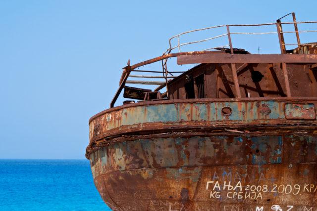 shipwreck. Author: nymphofox CC BY 2.0