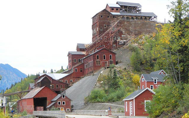 Since the 1980s the mine became a tourist attraction. Photo Credit:National Park Service, Alaska