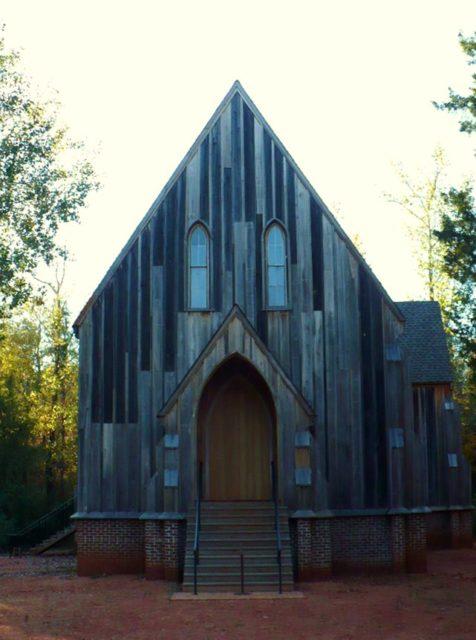 St. Luke's Episcopal Church in Cahaba, Alabama, United States. Photo Credit:Jeffrey Reed,CC BY-SA 3.0