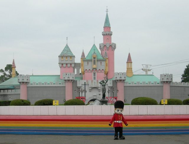 The Castle at Nara Dreamland. – By Ivan Lucas – CC BY-SA 2.5