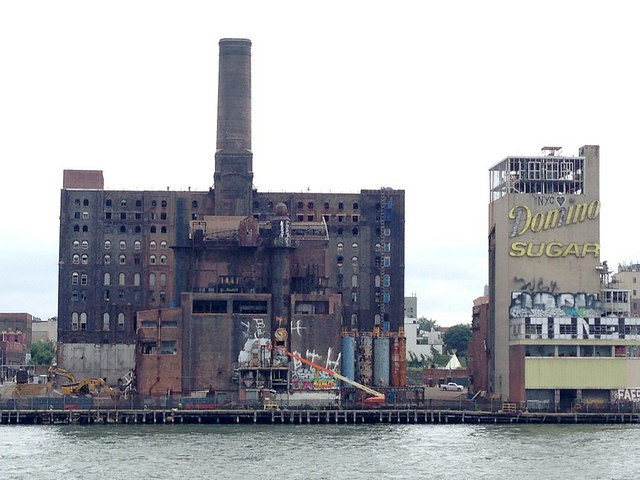 The devastated factory – taken in 2014. Author: Jessica Sheridan CC BY 2.0