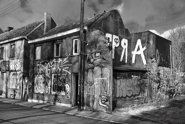 The end of Doel. Author: Sammy Six CC BY 2.0