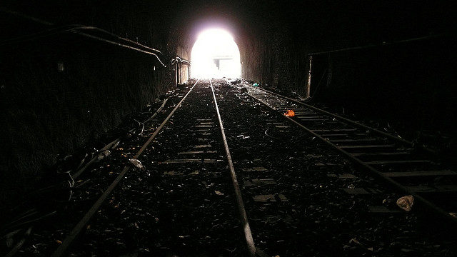 The light of the end of the tunnel