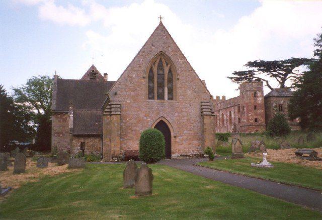 The parish church near the house. Author: Humphrey Bolton CC BY-SA 2.0