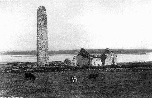 The ruins – taken in 1902.