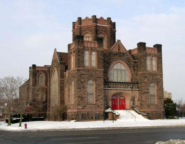 The Woodward Avenue Presbyterian Church. Photo Credit: Andrew Jameson,CC BY-SA 3.0