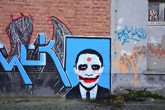 Why so serious. Author: Sammy Six CC BY 2.0
