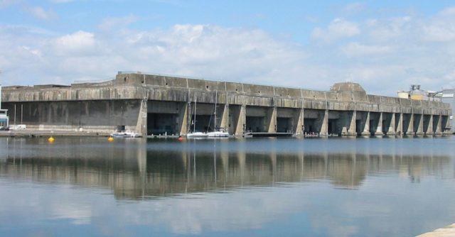 Submarine base of Saint-Nazaire – Author: KaTeznik – CC BY-SA 2.0