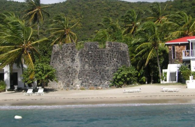 Fort Recovery, in the British Virgin Islands.