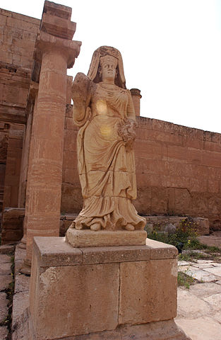 Statue of the Goddess Shahiro
