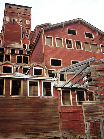 Kennecott-based tour groups now lead visitors on guided tours of the fourteen-story concentration mill.