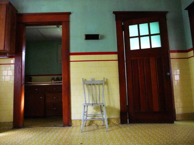 Inside the Bill Lynch House, childhood home of Nova Scotia's Carnival King. Author: scurrCC BY-NC 2.0