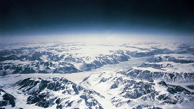 Southeastern coast of Greenland.