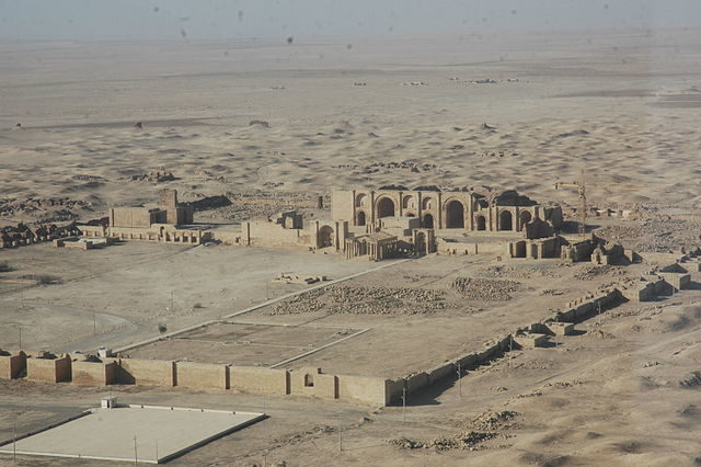 Overview of the site in 2007
