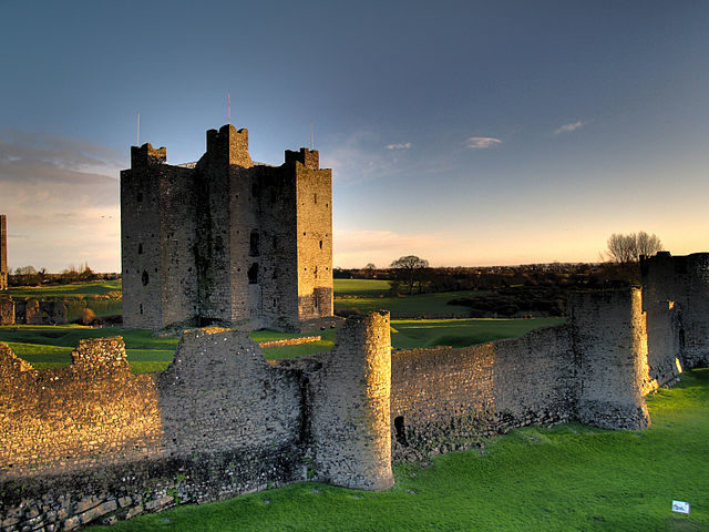 The keep and curtain walls of Trim Castle.Author:Andrew ParnellCC BY 2.0