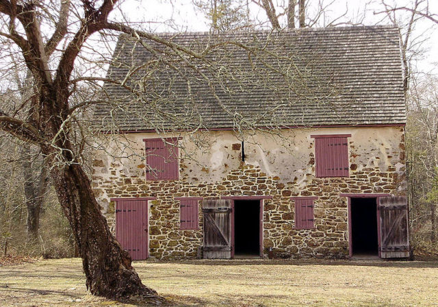 Building in Batsto Village, New Jersey, USA. mullica CC BY 2.0