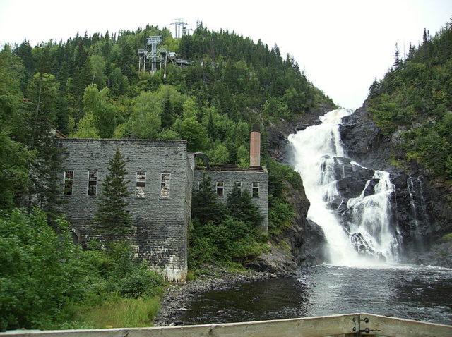 Ouiatchouan Falls, 2007