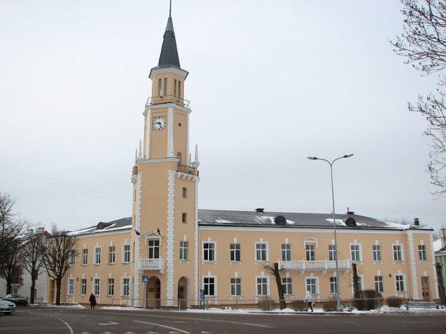 Town Hall of Sillamäe.