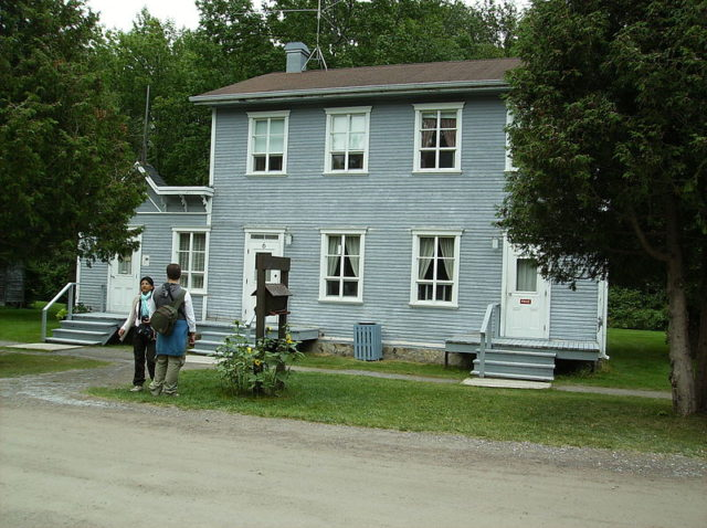 Val-Jalbert: a historic house
