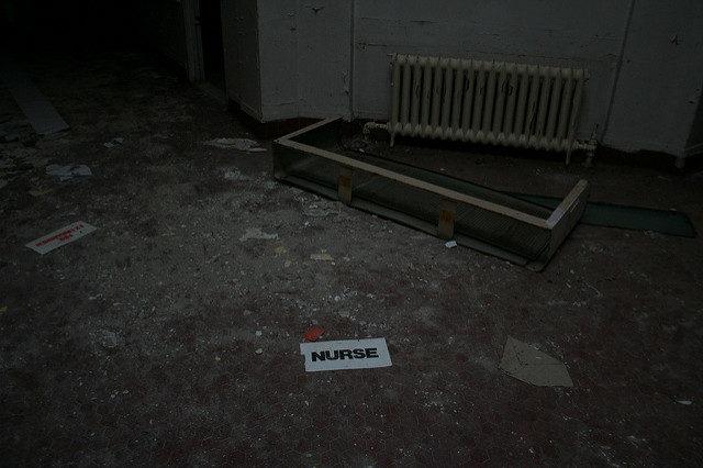A nurse on the floor.Author: AnneCC BY-ND 2.0