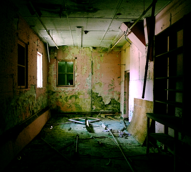 A vacant room. Ryan Bailey CC BY 2.0