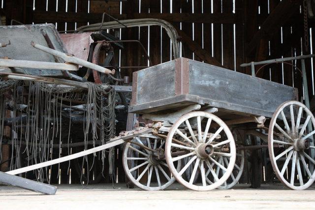 A carriage. mullica CC BY 2.0