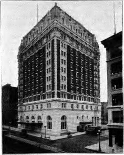 Benson Hotel in Portland, Oregon, circa 1920.