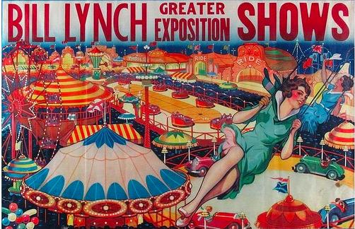 Bill Lynch Show Poster.
