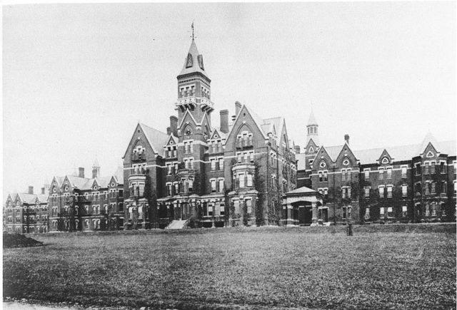 Danvers State Hospital, c. 1893.