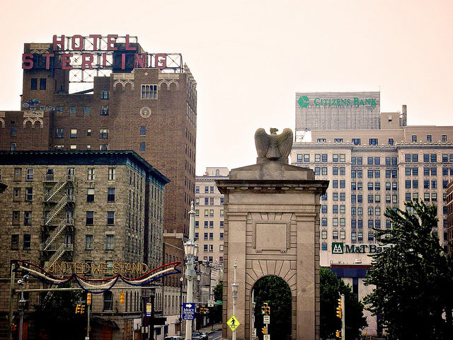Downtown Wilkes-Barre. Photo Credit