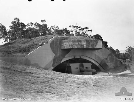 No. 2 BL 9.2 inch gun in 1944