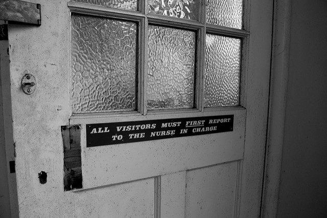 Hospital door. Author:Rob WalkerCC BY 2.0