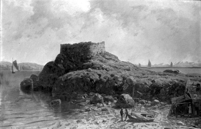 Fort Dumpling, Rhode Island.