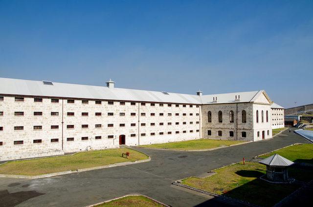 Fremantle Prison. Author:GnangarraCC BY 2.5 au