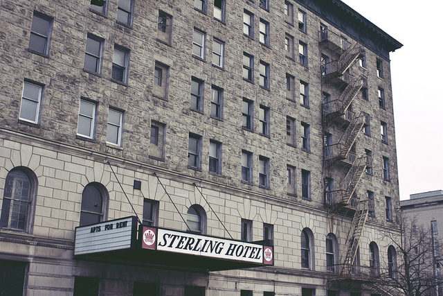 Hotel Sterling Apartments For Rent. Photo Credit